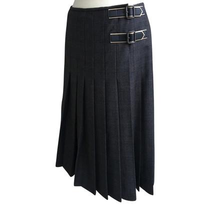 Windsor Geplooide omslag rok