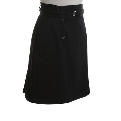 Alexander McQueen skirt in black