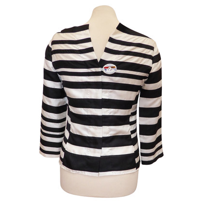 Louis Vuitton Silk blouse with striped pattern