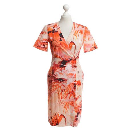 Visa-Zahlung Verkauf Mit Paypal Strenesse Kleid mit floralem Print Bunt / Muster Online Kaufen Neue Spielraum Neu Spielraum Niedriger Versand bLW6qev