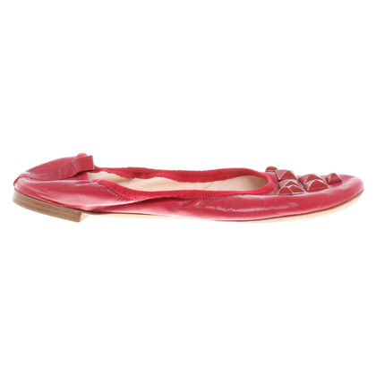Marc Jacobs Ballerina's in rood