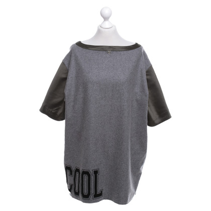 Twin-Set Simona Barbieri Sweater in olijf / grijs