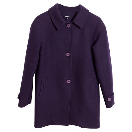 DKNY cappotto di lana