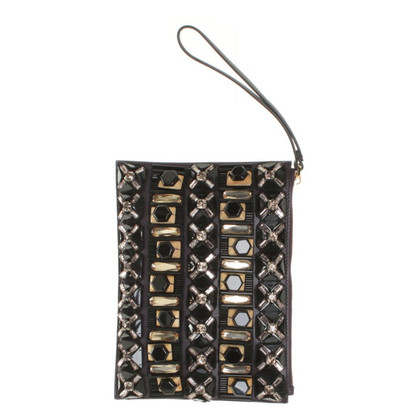 Marni clutch with jewelry