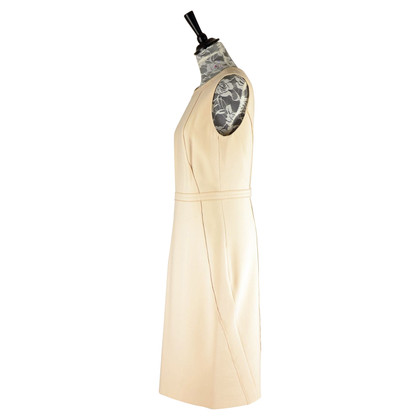 René Lezard Schede jurk in beige