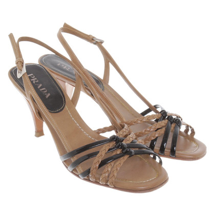 Prada Sandali a Brown