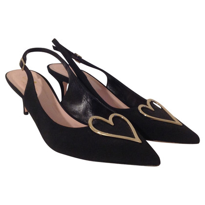 Kate Spade Slingbackpumps with heart decoration