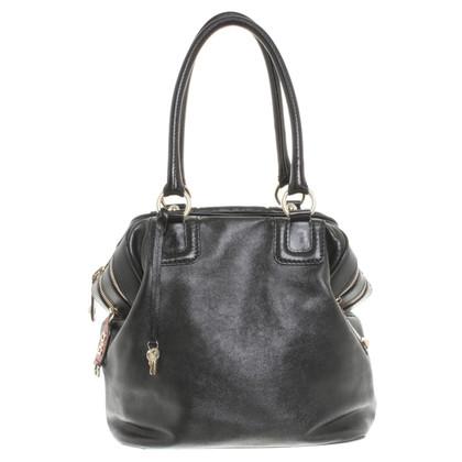 Dolce & Gabbana Borsa di cuoio nero