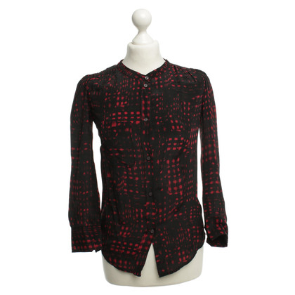 Isabel Marant Blouse with graphic pattern