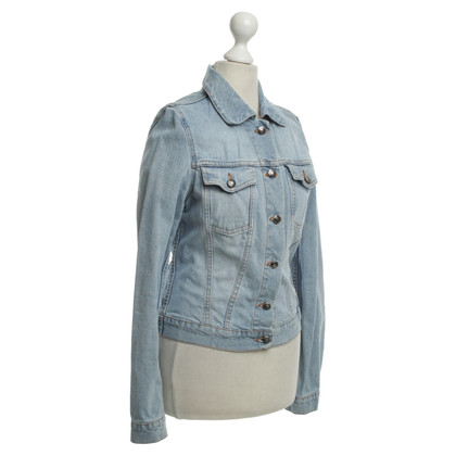 Hugo Boss Jeansjacke in Hellblau