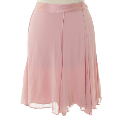 La Perla Silk skirt in pink