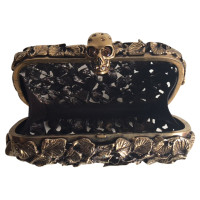 "Alexander McQueen ""Leaf and Thorn"" Box Metal clutch"