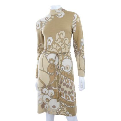 Leonard Vintage Jerseykleid
