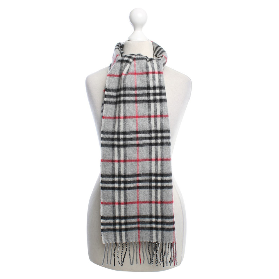 Burberry Cashmere scarf in grey