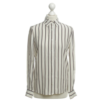 Frame Denim Silk shirt with stripe pattern