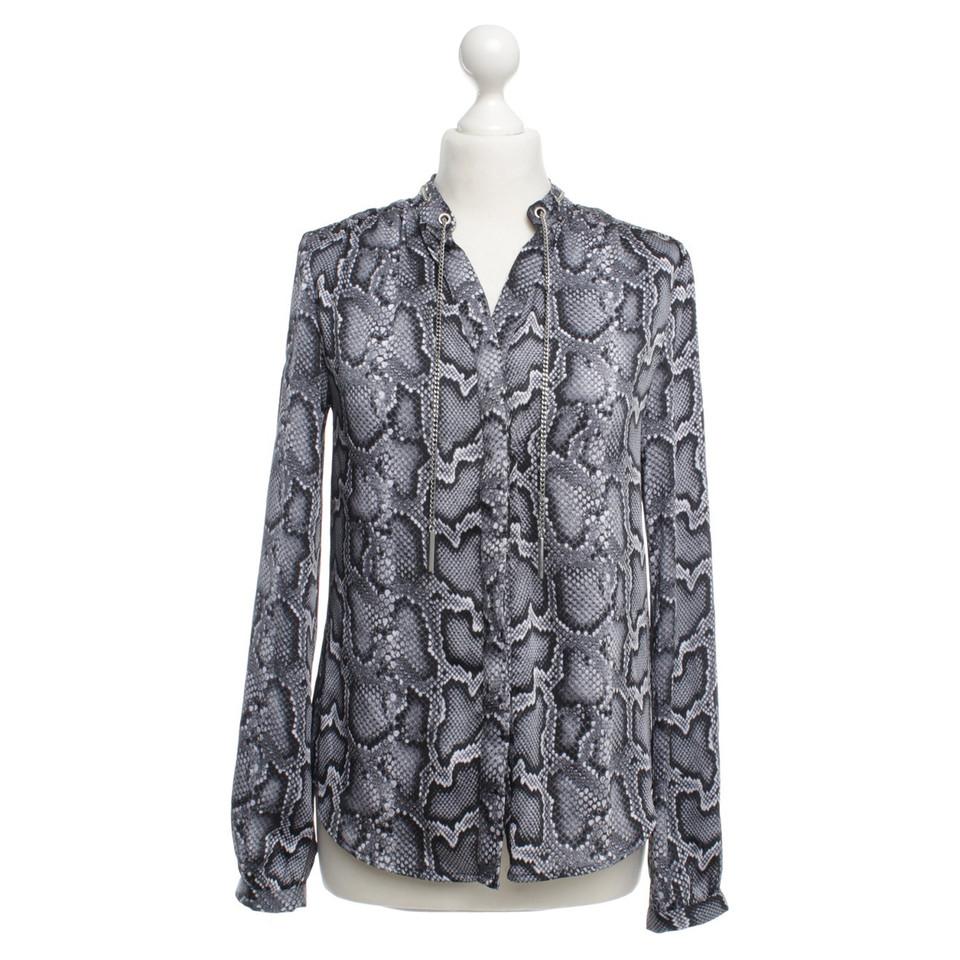 michael kors bluse mit reptil print second hand michael kors bluse mit reptil print gebraucht. Black Bedroom Furniture Sets. Home Design Ideas