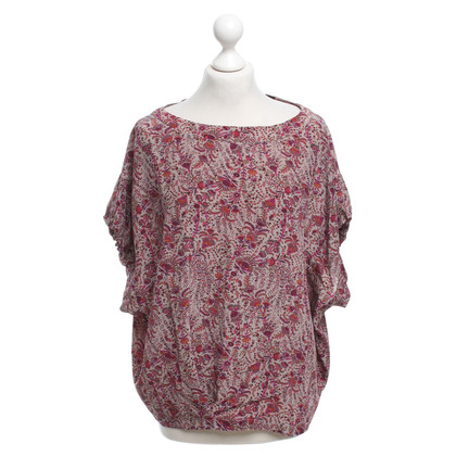 Maje top with floral pattern