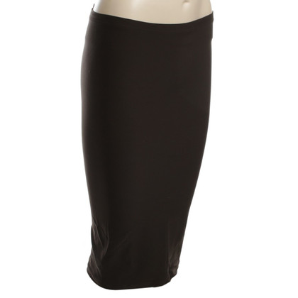 Wolford Gonna longuette in marrone