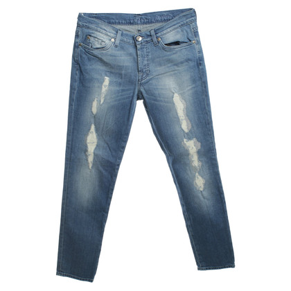 7 For All Mankind Jeans with decorative patches