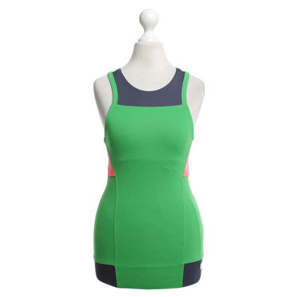 Stella McCartney for Adidas Sport top in green