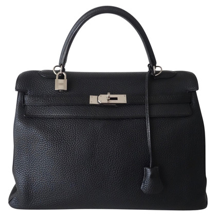 "Hermès ""Cuoio Kelly Bag 35 Clemence"""