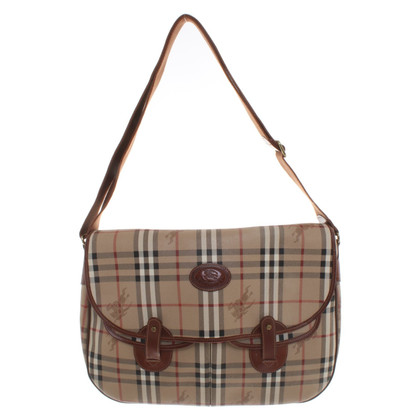 Burberry Handtasche mit Nova-Check Muster