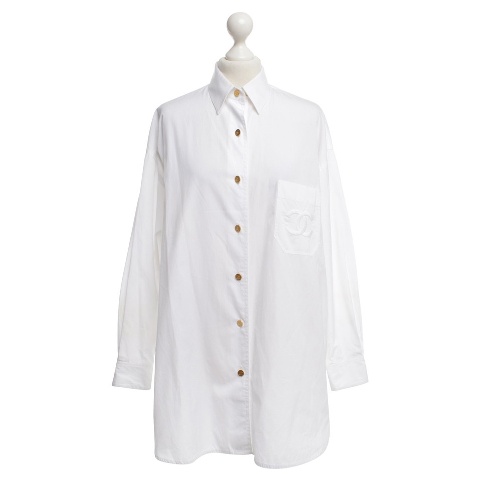 Chanel Shirt blouse in white