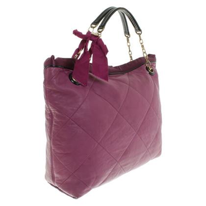 Lanvin Handtas in purple