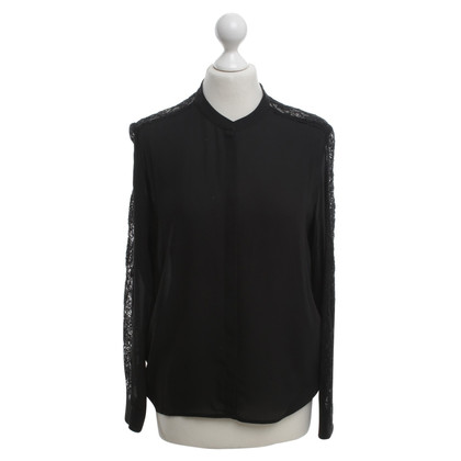 The Kooples Blouse with lace trim