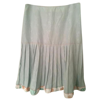 Noa Noa Pleated skirt in mint green