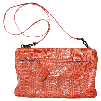 Bottega Veneta Crossbody Tas Exotic Leather