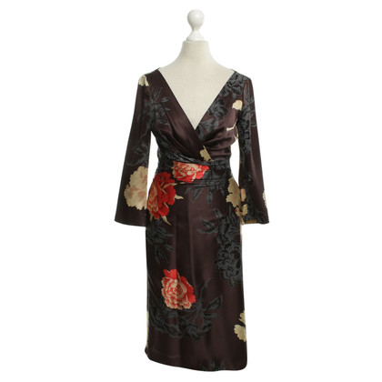 Hugo Boss Silk dress with floral pattern