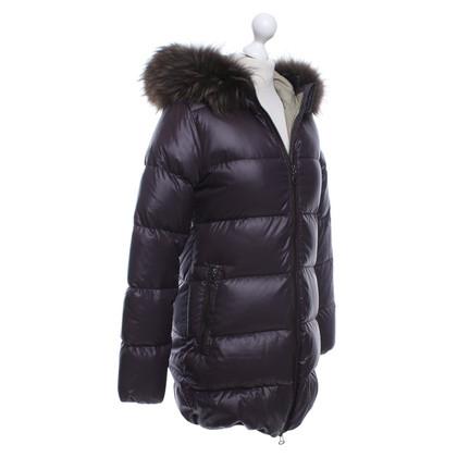 Duvetica manteau de duvet violet