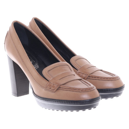 Tod's pumps in brown