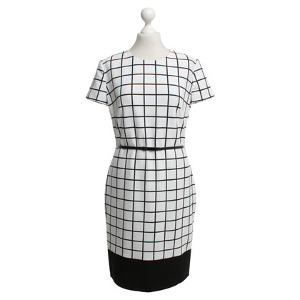 Hugo Boss Jurk met plaid patroon