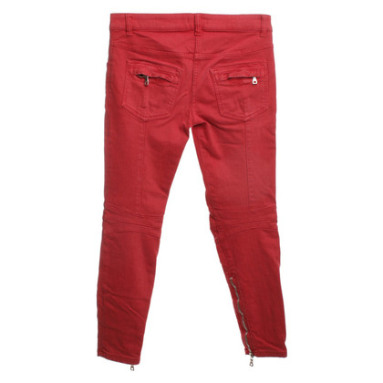 Balmain Jeans in red