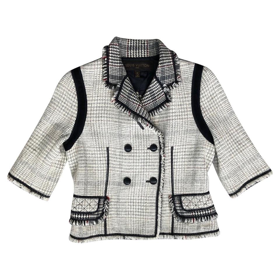 louis vuitton veste en tweed acheter louis vuitton veste en tweed second hand d 39 occasion pour. Black Bedroom Furniture Sets. Home Design Ideas