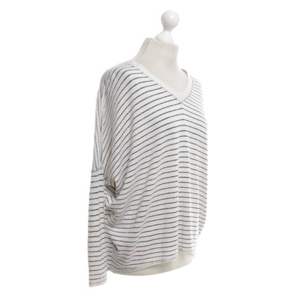 Steffen Schraut Sweater in cream / silver