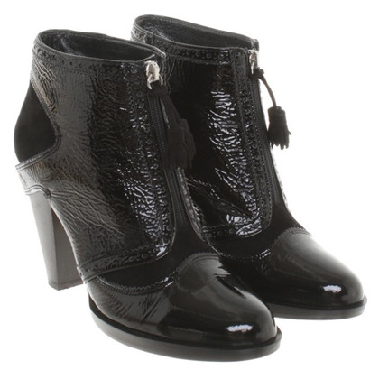 Navyboot Ankle boots from leather mix