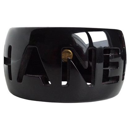 Chanel Bangle with cut-out logo