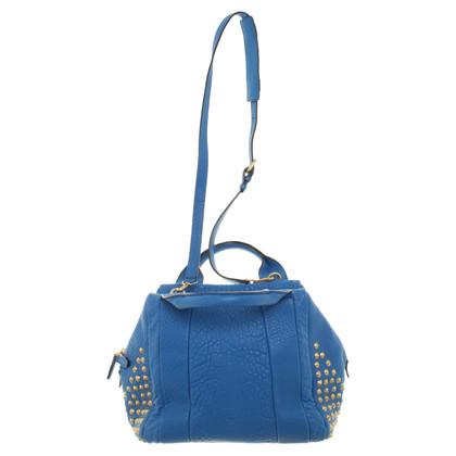 MCM Handtas in blauw