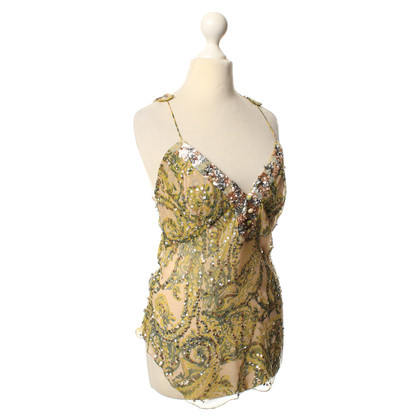 Alessandro Dell'Acqua Top with pattern