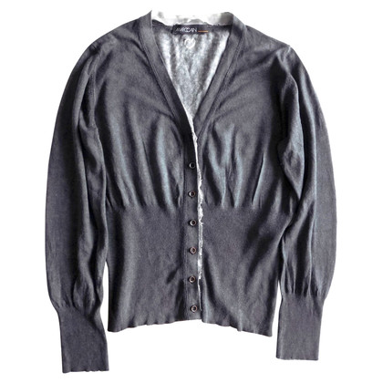 Marc Cain Gauge knit cardigan in grey