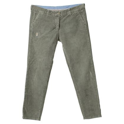 Patrizia Pepe Pantaloni di velluto grigio