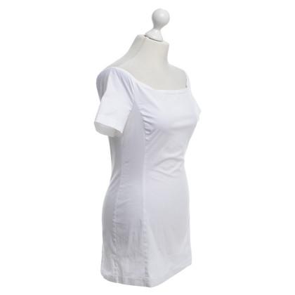 Prada Longshirt in Weiß