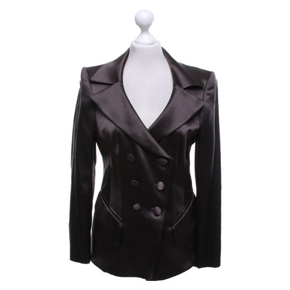 Rena Lange Blazer in dark brown