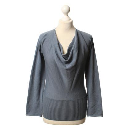 Armani Knit sweater in greyish-blue