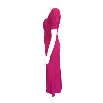 Rena Lange Magentafarbenes Abendkleid