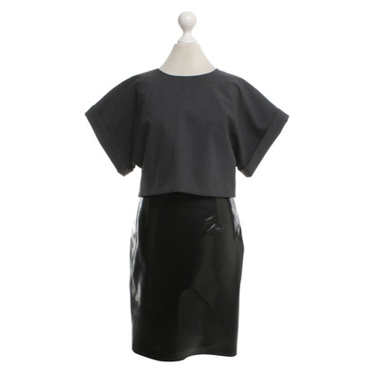 MSGM Dress in Black / grey