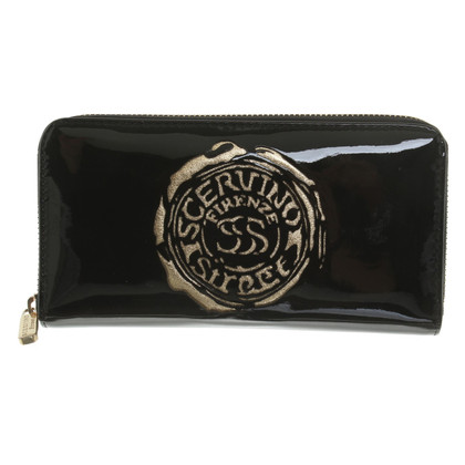 Ermanno Scervino Patent leather wallet